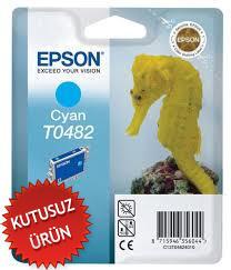EPSON - Epson T0482 Orjinal Mavi Kartuş - R200 / R300 / RX500 / RX600 (U)