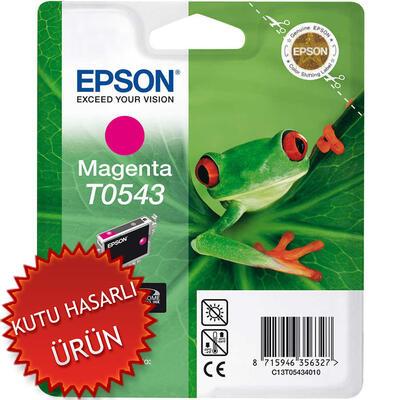 EPSON - Epson T0543 C13T05434020 Kırmızı Orjinal Kartuş (C)