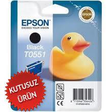 EPSON - Epson T0551 C13T05514020 Siyah Kartuş - R240/ R245/ RX420/ RX425 (U)