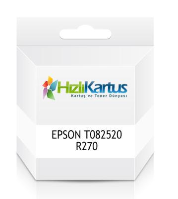 EPSON - Epson T082520 R270 Stylus Photo Açık Mavi Muadil Kartuş
