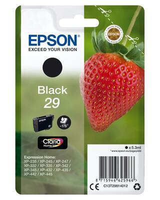 EPSON - Epson T2981 C13T29814022 Siyah Orjinal Kartuş - XP-235 / XP-435