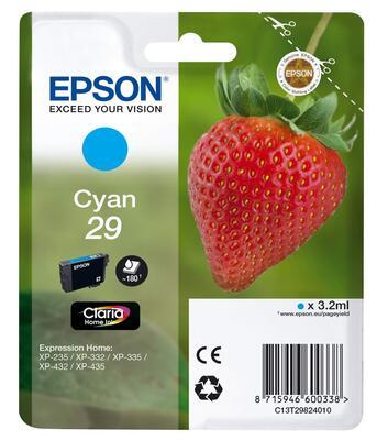 EPSON - Epson T2982 C13T29824022 Mavi Orjinal Kartuş - XP-235 / XP-435