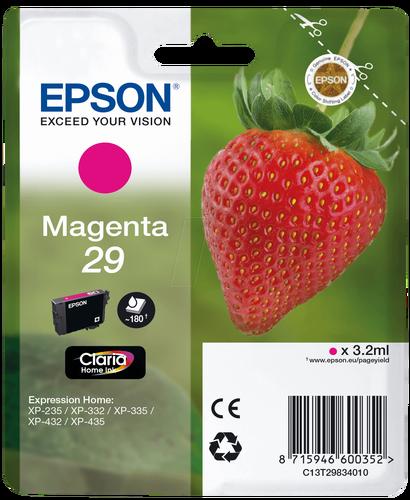 Epson T2983 C13T29834022 Kırmızı Orjinal Kartuş - XP-235 / XP-435