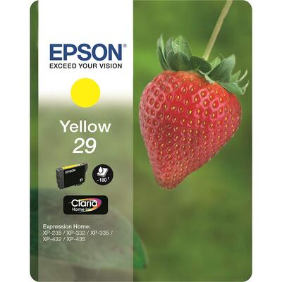 EPSON - Epson T2984 C13T29844022 Sarı Orjinal Kartuş - XP-235 / XP-435