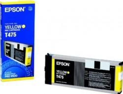 EPSON - Epson T475 (C13T475011) Orjinal Sarı Kartuş-Pro 9500