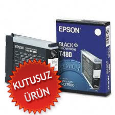 EPSON - Epson T480 Pro Orjinal Renkli Kartuş (U)