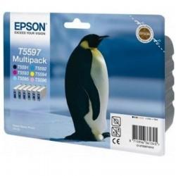 EPSON - EPSON T5597 C13T55974010 6LI PAKET Multipack ORJİNAL KARTUŞ