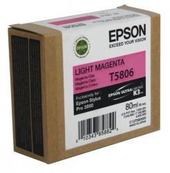 EPSON - EPSON T5806 (C13T580600) AÇIK KIRMIZI ORJİNAL KARTUŞ - PRO 3800