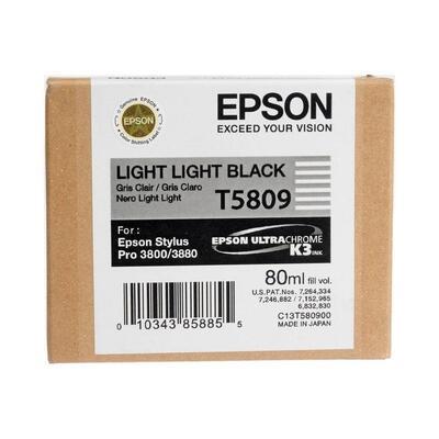 EPSON - Epson T5809 (C13T580900) Duble Açık Siyah Orjinal Kartuş - PRO 3800