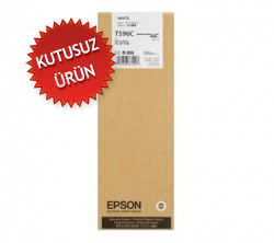EPSON - EPSON T596C White (Beyaz) KARTUŞ Pro 7800 / 7900 / 9800 / 9900 (U)