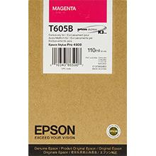 EPSON - Epson T605B Pro 4800/4880 Kırmızı Orjinal Kartuş