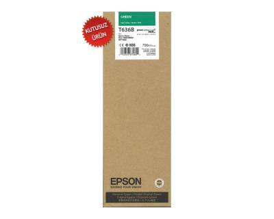 EPSON - Epson T636B (C13T636B00) Orjinal Yeşil Kartuş -Pro 7800 / 7900 / WT7900 / 9900 (U)