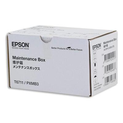 EPSON - Epson T6711 Orjinal Atık Kutusu - WF-7210 / WF-7710