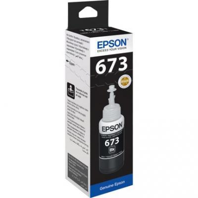 EPSON - Epson T6731 Siyah Mürekkep Kartuş L800, L805, L810, L850, L1800