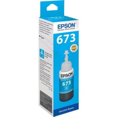 EPSON - Epson T6732 Mavi Mürekkep Kartuş L800, L805, L810, L850, L1800
