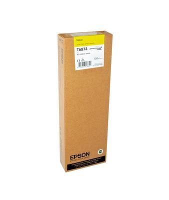 EPSON - Epson T6874 UltraChrome Sarı Orjinal Kartuş SureColor S30600