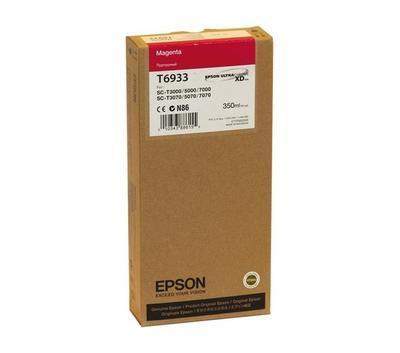 EPSON - EPSON T6933 KIRMIZI ORJİNAL KARTUŞ SureColor T3000 / T5000 / T7000