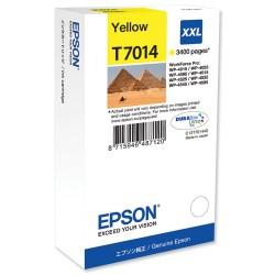 EPSON - EPSON T7014 SARI XXL KARTUŞ WP-4015DN / WP-4025DW / WP-4525
