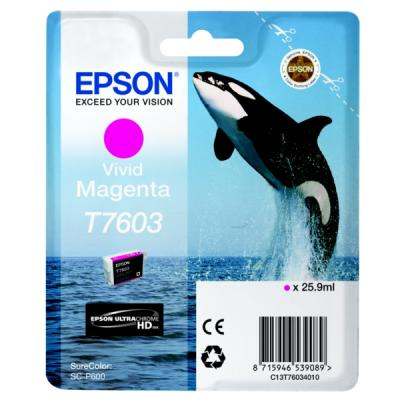 EPSON - Epson T7603 C13T76034010 Kırmızı Orjinal Kartuş SureColor SC-P600