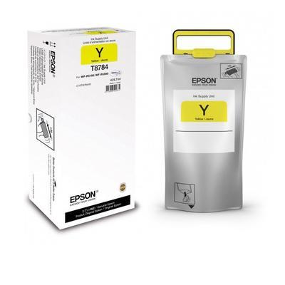 EPSON - Epson T8784 Sarı Orjinal Kartuş - WF-R5690DTWF / WF-R5190DTW