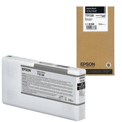 EPSON - EPSON T9138 MAT SİYAH ORJİNAL KARTUŞ Surecolor SC-P5000 / SC-P7000