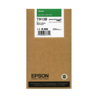 EPSON - EPSON T913B YEŞİL ORJİNAL KARTUŞ Surecolor SC-P5000 / SC-P7000