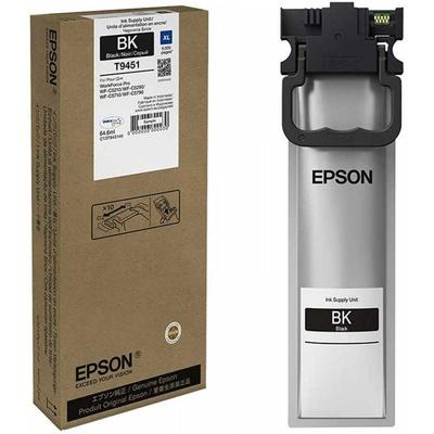 EPSON - Epson T9451 (C13T945140) Siyah Orjinal Mürekkep WF-C5210DW / WF-C5290DW / WF-C5790DWF