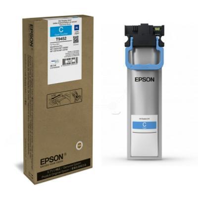 EPSON - Epson T9452 (C13T945240) Mavi Orjinal Mürekkep 5.000 Sayfa WF-C5210DW / WF-C5290DW / WF-C5790DWF