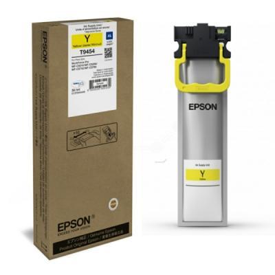 EPSON - Epson T9454 (C13T945440) Sarı Orjinal Mürekkep 5.000 Sayfa WF-C5210DW / WF-C5290DW / WF-C5790DWF