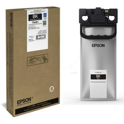 EPSON - Epson T9461 (C13T946140) Siyah Orjinal Mürekkep 10.000 Sayfa WF-C5290DW / WF-C5790DWF