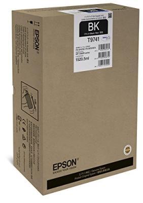 EPSON - Epson T9741 XXL Siyah Orjinal Kartuş 1520,5 ml WF-C860 Serisi 86,000 Sayfa