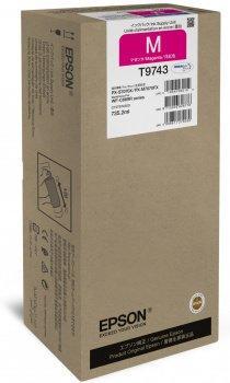 EPSON - Epson T9743 XXL Kırmızı Orjinal Kartuş 735,2 ml WF-C860 Serisi 84,000 Sayfa