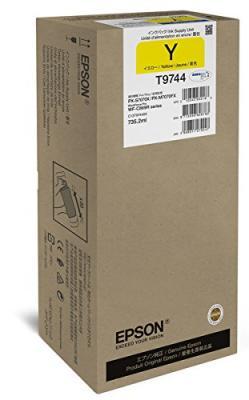 EPSON - Epson T9744 XXL Sarı Orjinal Kartuş 735,2 ml WF-C860 Serisi 84,000 Sayfa
