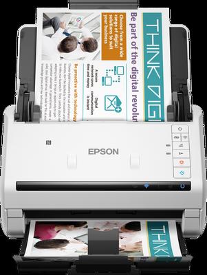EPSON - Epson WorkForce DS-570W Tarayıcı +Wi-Fi +NFC (B11B228401)