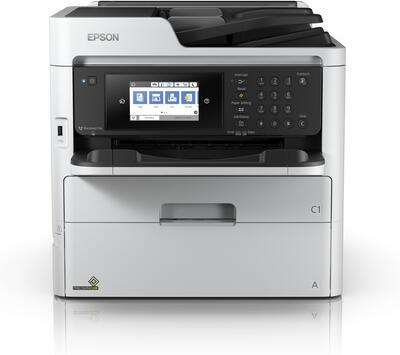 EPSON - Epson WorkForce Pro WF-C579RDWF Renkli Çok Fonksiyonlu Yazıcı