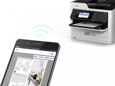 Epson WorkForce Pro WF-M5799DWF Çok Fonksiyonlu Inkjet Yazıcı, Wi-Fi - Thumbnail