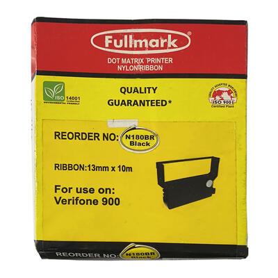 Fullmark - Fullmark N180BR Siyah Muadil Şerit - Verifone 900