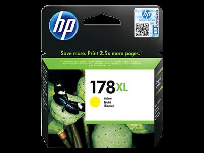 HP - HP 178XL CB325HJ SARI ORJİNAL KARTUŞ Photosmart 5510 / 5515 / D5463