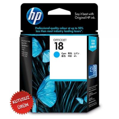 HP - HP 18 C4937A MAVİ ORJİNAL KARTUŞ K5300 / K5400 / K8600 / L7380 (U)