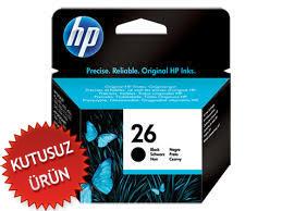 HP - HP 26 51626AE Siyah Orjinal Kartuş (U)