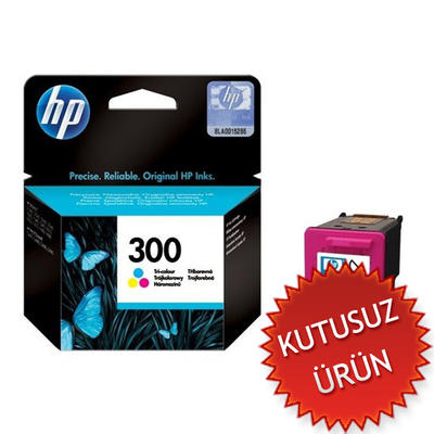 HP - HP 300 CC643E Renkli Orjinal Kartuş (U)