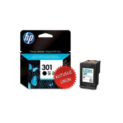HP - HP 301 CH561EE SİYAH ORJİNAL KARTUŞ (U)