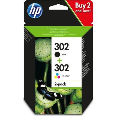 HP - HP 302 X4D37AE Siyah+Renkli Multipack Orjinal Kartuş