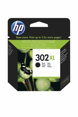 HP - HP 302XL F6U68AE SİYAH ORJİNAL KARTUŞ Yüksek Kapasite DeskJet 2130
