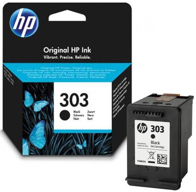 HP - HP 303 T6N02AE Siyah Orjinal Kartuş Envy Photo 6220, 6230, 7130, 7134, 7830