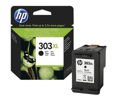 HP - HP 303XL T6N04AE Siyah Orjinal Kartuş Yüksek Kapasite Envy Photo 6220, 6230, 7130, 7134, 7830