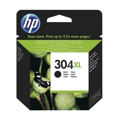 HP - HP 304XL N9K08AE Siyah Yüksek Kapasite Orjinal Kartuş- DeskJet 3720, 3730