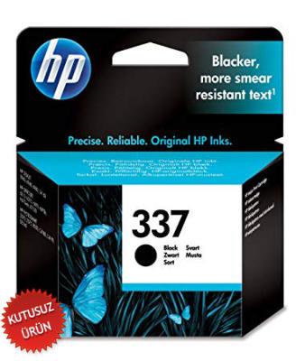HP - HP 337 C9364EE SİYAH ORJİNAL KARTUŞ (U)
