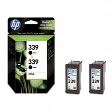 HP - HP 339 C9504E 2Lİ PAKET SİYAH ORJİNAL KARTUŞ