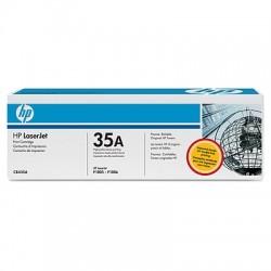 HP - HP 35A CB435A SİYAH ORJİNAL TONER